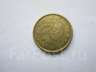 Испания 10 евро центов 2004 года
