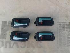 Ручка двери внутренняя. Toyota: Camry, Mark II Wagon Qualis, Crown, Chaser, Cresta, Soluna, Corolla, Mark II Двигатели: 1MZFE, 5SFE, 2MZFE, 3YPE, 1GGP...