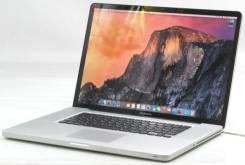 "Apple MacBook Pro 17. 17"", 2,6ГГц, ОЗУ 4096 Мб, диск 500 Гб, WiFi, Bluetooth, аккумулятор на 4 ч. Под заказ"