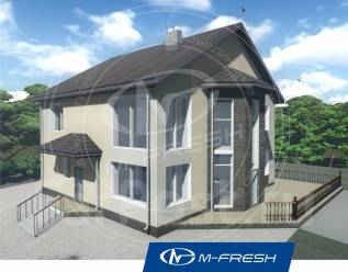 M-fresh Aristotle-зеркальный. 200-300 кв. м., 2 этажа, 6 комнат, бетон