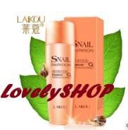 Тоник для лица с улиточной слизью Laikou Snail Nutrition, 160 мл