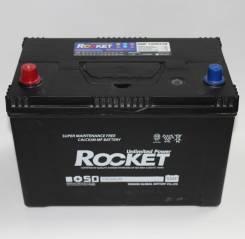 Rocket. 100 А.ч., левое крепление, производство Корея