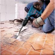 Демонтаж деревянных полов и сооружений