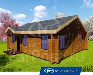 M-fresh Optimist-зеркальный (Покупайте сейчас проект со скидкой 20%! ). 100-200 кв. м., 1 этаж, 4 комнаты, дерево