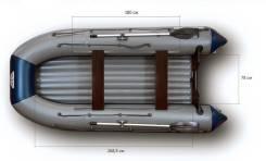 Флагман. Год: 2015 год, длина 3,80м., двигатель подвесной, 20,00л.с., бензин