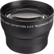 Объектив Digital Concepts 2.2x Telephoto Professional Lens 52mm. диаметр фильтра 52 мм