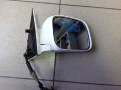 Зеркало заднего вида боковое. Nissan Largo, W30