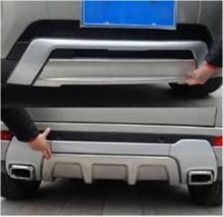 Накладка на бампер. Land Rover Range Rover Evoque