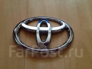 Эмблема багажника. Toyota: Corolla, Corolla Rumion, Wish, Yaris, Highlander, Crown, Allion, Corolla Fielder, Vios, Premio, Corolla Axio, Belta Двигате...