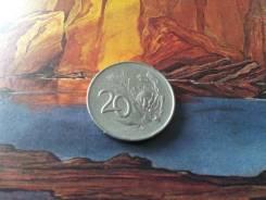 ЮАР. 20 центов 1966 года. Нечастая!