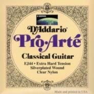 D'Addario EJ44 Pro ARTE Нейлон Extra Hard струны классической гитары
