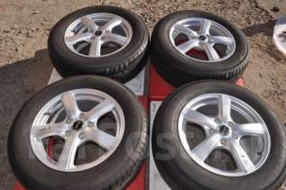 Состояние новых! Диски Exceeder+шины Toyo 205/65R16! поз 8-111. 6.5x16 5x114.30 ET48 ЦО 70,0мм.