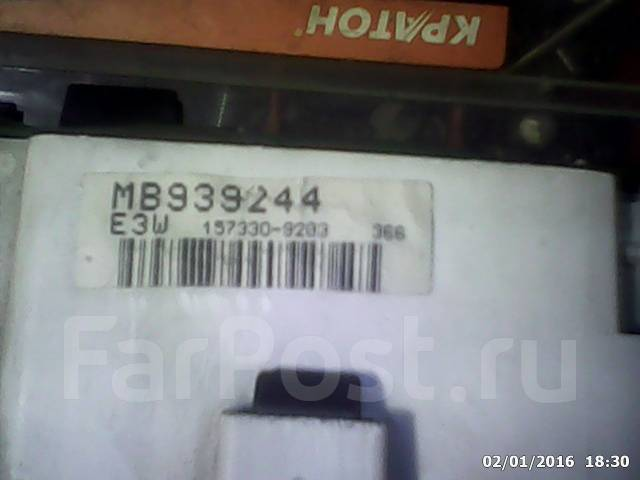 Панель приборов. Mitsubishi Galant, E54A, E53A, E52A, E57A, E64A, E72A Двигатели: 6A12, 4G93, 6A11, 4D68