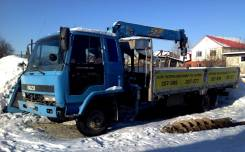 Isuzu Forward. Продается грузовик с манипулятором, 7 127 куб. см., 5 000 кг.