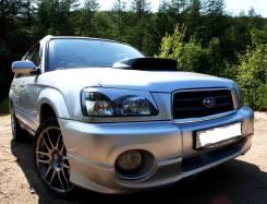 Накладка на фару. Subaru Forester, SG. Под заказ из Новосибирска