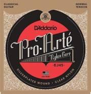 D`Addario EJ45 PRO ARTE Струны для классической гитары нейлон Normal