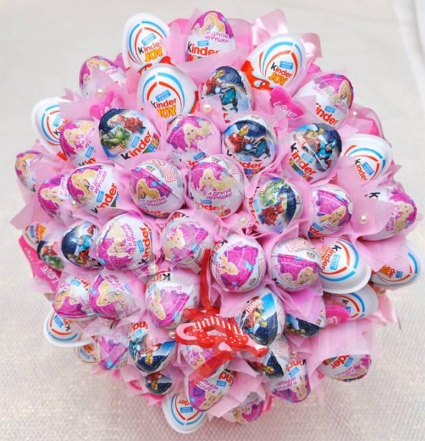 Сладкий подарок на день святого валентина 14 февраля
