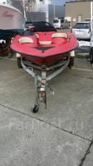 Катер Sport Jet с телегой. двигатель стационарный, 120,00л.с., бензин