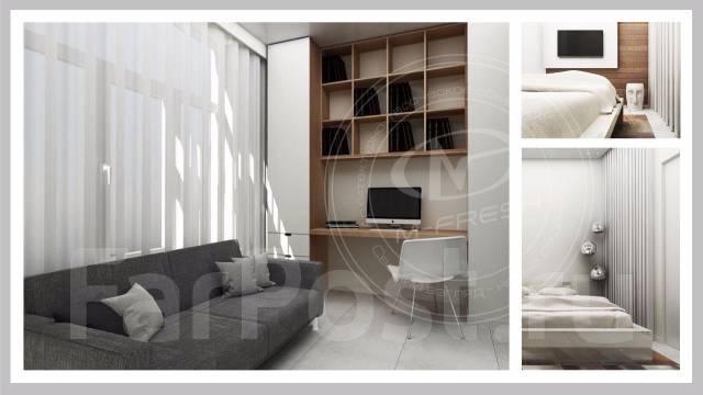 Посмотрите портфолио(примеры наших работ) по свежему дизайну помещений. Тип объекта квартира, срок выполнения месяц