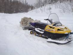 BRP Ski-Doo Skandic SWT 500F. исправен, есть птс, с пробегом