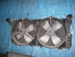 Радиатор охлаждения двигателя. Toyota MR2 Двигатель 3SGTE
