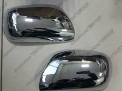 Накладка на зеркало. Toyota Corolla Fielder, NZE141, ZRE144, NZE144, ZRE142 Toyota ist, ZSP110, NCP115, NCP110 Toyota Corolla Axio, ZRE142, NZE141, ZR...