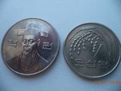 Южная Корея, 100 вон + 50 вон 1989 г