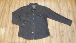 Рубашки джинсовые. Рост: 146-152 см