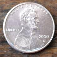 1 цент 2000 США D