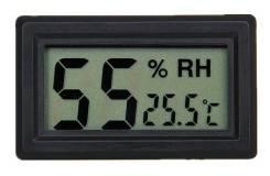 Встраиваемый термометр гигрометр (гидрометр) 48мм х 28мм