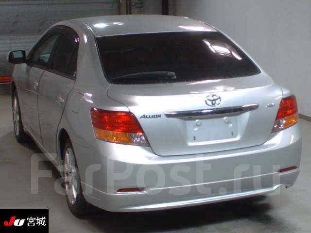 Обвес кузова аэродинамический. Toyota Allion, ZRT265, ZRT260, NZT260