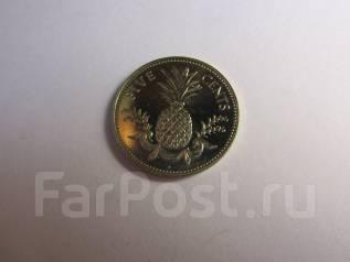 Багамы 5 центов 2005 года. UNC.