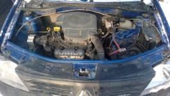 Суппорт тормозной. Renault Logan Двигатель K7J