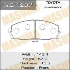 Колодка тормозная дисковая. Toyota: ToyoAce, Dyna, Hiace, Regius Ace, Grand Hiace, Regius, Granvia Двигатели: 5L, 3L, 5LE, 2RZ, 2L, 2RZE, 1RZ, 3RZFE...