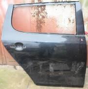 Дверь задняя правая черная Skoda Fabia 5J 2007-2014 5J6833052