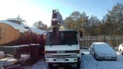 Isuzu Forward. Автокран Izuzu Forward, 7 500 куб. см., 5 000 кг.