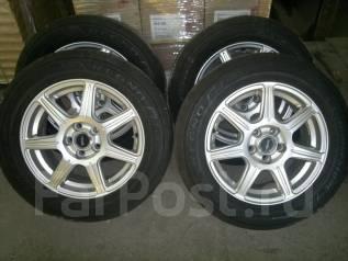 Продам колеса Bridgestone Ecopia Regno 195 / 60R15 BS Regno 2014 года. 6.0x15 5x100.00 ET45 ЦО 58,0мм.