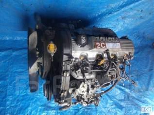 Двигатель в сборе. Toyota Lite Ace Toyota Caldina, CT196, CT196V Двигатель 2C