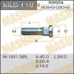 Шпилька. Lexus: HS250h, IS200, NX200t, ES300, CT200h, IS300, RX270, ES200, GS250, NX300h, LS430, IS200t, IS F, GS450h, IS200d, LX450, RC350, IS300h, G...