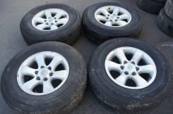 *Продам комплект колес, возможна отправка. 7.5x17 6x139.70 ET30 ЦО 105,0мм.