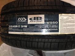 Yokohama Avs Decibel V550. Летние, 2015 год, без износа, 4 шт