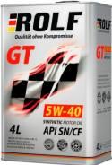 ROLF. Вязкость 5W40, синтетическое