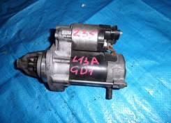 Стартер. Honda Jazz Honda Mobilio, DBA-GB1, CBA-GB1, DBA-GB2 Honda Fit, GD1, UA-GD4, CBA-GD4, DBA-GD2, UA-GD2, DBA-GD1, UA-GD3, UA-GD1, CBA-GD3 Двигат...