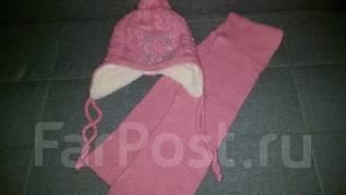 Шапка и шарф. Рост: 116-122 см