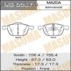 Колодка тормозная дисковая. Mazda: Mazda3, Mazda5, Axela, Premacy, Training Car, Biante Ford Focus, CA5, CAP, CB4 Ford C-MAX, CB3, CAP Ford EcoSport...