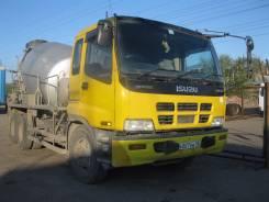 Isuzu Giga. Продается бетоносмеситель , 6 куб, 1999, полная пошлина., 19 000 куб. см., 6,00куб. м.