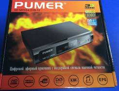TV тюнер (цифровой приемник) DVB-T2 -20каналов 3радио. Full HD