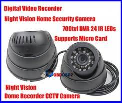 Цветная купольная видеокамера с записью на карту памяти JK-570, USB