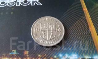Загадочный Маврикий! Одна рупия 1997 года. Большая красивая монета!
