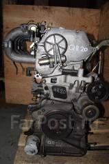 Двигатель в сборе. Nissan: Prairie, Caravan, Atlas, AD, Teana, NV350 Caravan, Wingroad, Avenir, Liberty, X-Trail, Serena, Primera Двигатель QR20DE